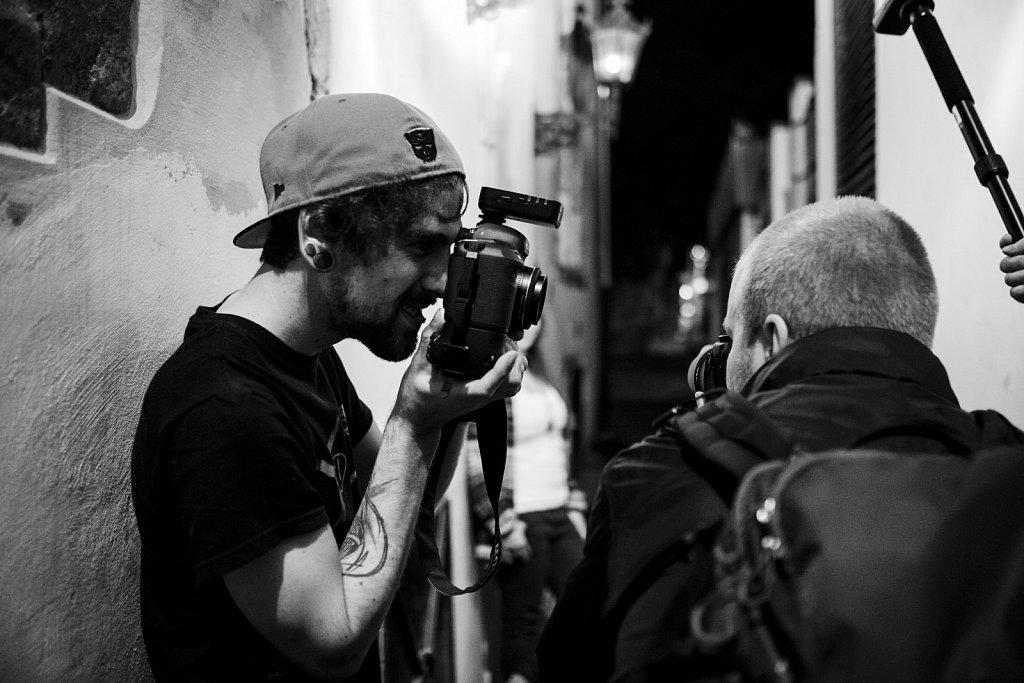 .::Making of Shooting::.